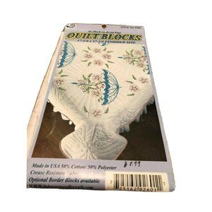 FAIRWAY Floral Umbrella Stamped Embroidery